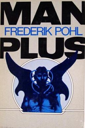 Man Plus - Cover of first edition (hardcover)