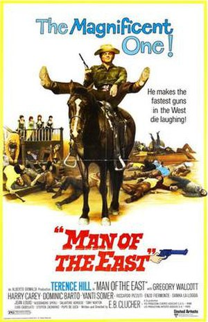 Man of the East - US film poster