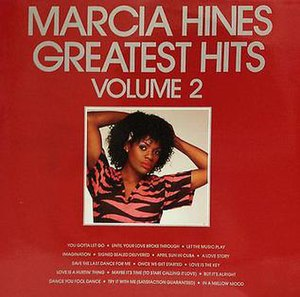 Greatest Hits Volume 2 (Marcia Hines album) - Image: Marcia Hines Greatest Hits Volume 2