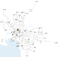 Melbourne trams route 30 map.png