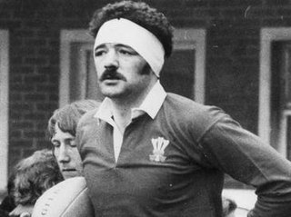 Mervyn Davies Welsh rugby union player