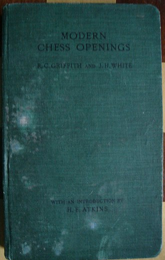 Modern Chess Openings - Worn copy of second edition (1913)