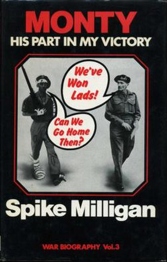 Monty: His Part in My Victory - Cover of the 1976 first hardcover edition