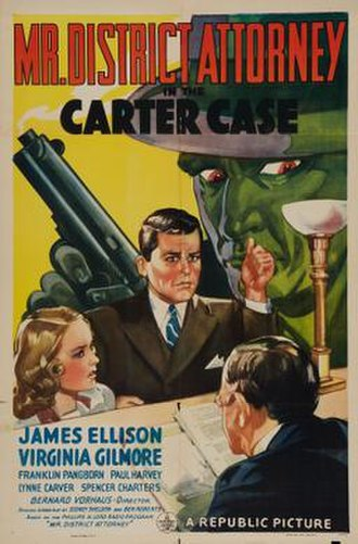 Mr. District Attorney in the Carter Case - Theatrical release poster