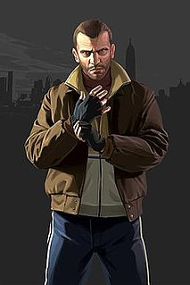 Niko Bellic protagonist of the 2008 video game Grand Theft Auto IV