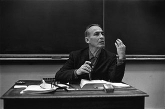 Norman Maclean - Image: Norman Maclean Teaching 1970