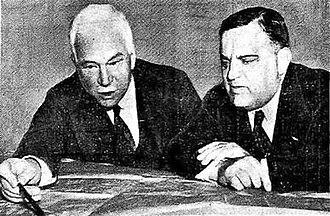 Oliver Mowat Biggar - Col. O.M. Biggar with Mayor Fiorello La Guardia