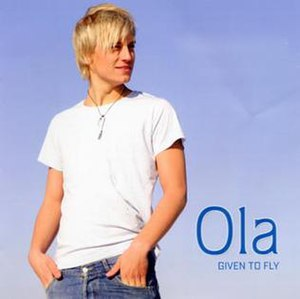 Given to Fly (Ola album) - Image: Ola Givento Fly