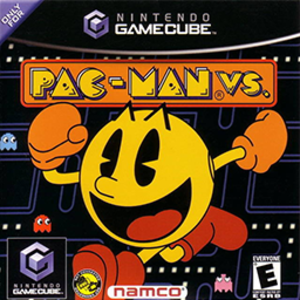 Pac-Man Vs. - North American cover art for the GameCube version