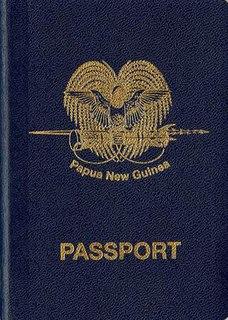 Papua New Guinean passport