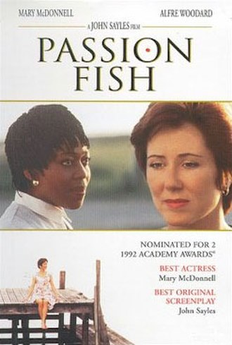 Passion Fish - Theatrical release poster