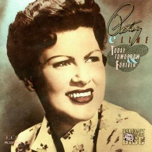 Today, Tomorrow, and Forever (Patsy Cline album) - Image: Patsy Cline Today, Tomorrow, and Forever