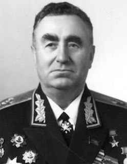 Pavel Batitsky Soviet military leader