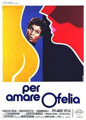 To Love Ophelia - Italian theatrical release poster by Renato Casaro
