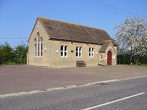 Pertenhall - Pertenhall Village Hall, previously the village school