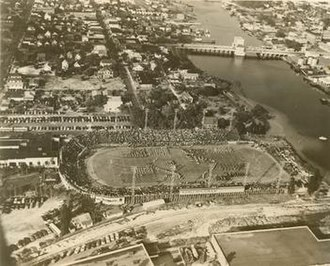 Phillips Field (Florida) - Phillips Field, located on the banks of the Hillsborough River.