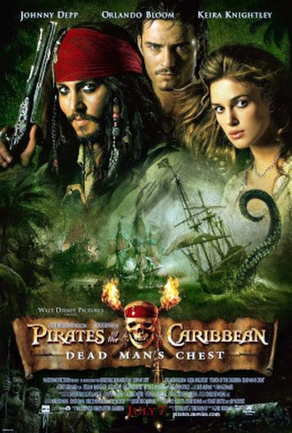 Pirates of the Caribbean: Dead Man's Chest - Theatrical release poster