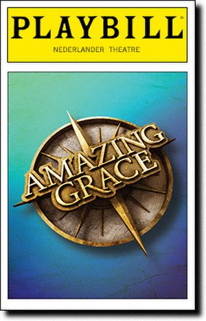 Amazing Grace (musical) - Playbill from the Broadway production