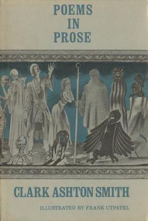 Poems in Prose (Smith collection) - Jacket illustration by Frank Utpatel for Poems in Prose