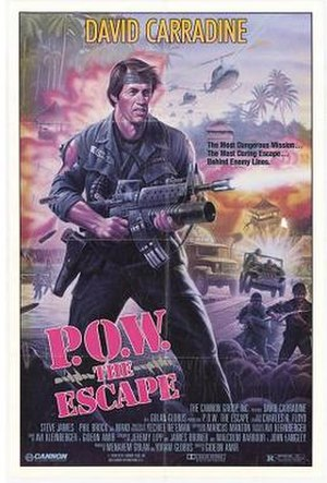 Behind Enemy Lines (1986 film) - Image: Pow the escape poster