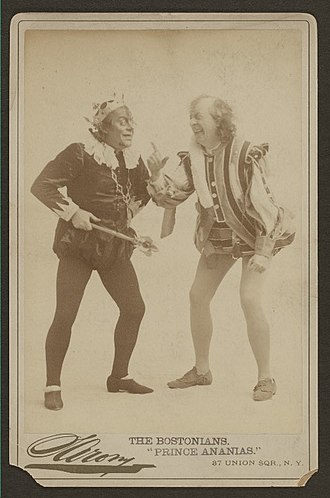 Victor Herbert - A photo from the original 1894 production of Prince Ananias, Herbert's first operetta.