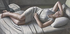 Dod Procter - Dod Procter; Morning. Bought for the nation by the Daily Mail in 1927.