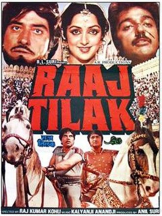 Raaj Tilak - Promotional Poster