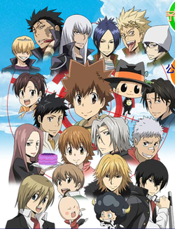 A Collaboration Of Several Of The Seriesu0027 Characters As They Appear In The  Anime. From Left To Right (from The Top): Row 1   Belphegor, Xanxus, ...