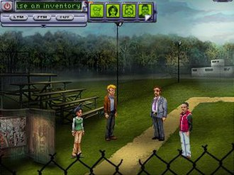 Resonance (video game) - Anna, Ed, Bennett and Ray.