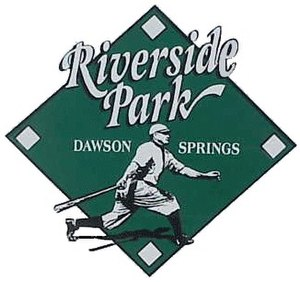 Riverside Park, Dawson Springs - Image: Riverside park sign