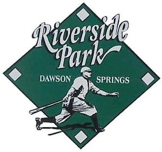 Riverside Park, Dawson Springs - Image: Riverside park sign