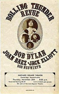 Rolling Thunder Revue Tour