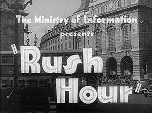 Rush Hour (1941 film) - Title screenshot