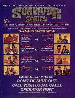 Survivor Series (1988) 1998 World Wrestling Federation pay-per-view event
