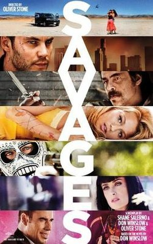 Savages (2012 film) - Theatrical release poster