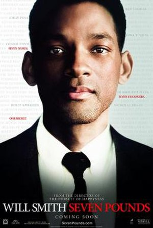 Seven Pounds - Theatrical release poster