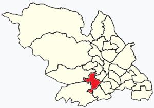 Ecclesall - Image: Sheffield wards Ecclesall