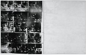 Silver Car Crash (Double Disaster) - Image: Silver Car Crash by Andy Warhol (1963)