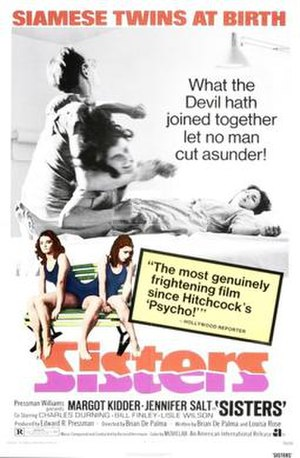 Sisters (1973 film) - Theatrical release poster