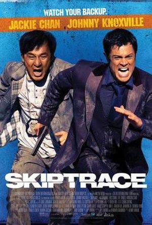Skiptrace (film) - American film poster