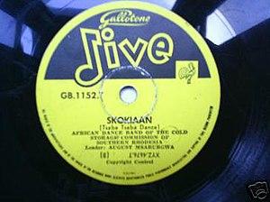 Skokiaan - Image: Skokiaanlabel