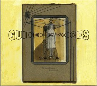 <i>Space Gun</i> (album) 2018 studio album by Guided by Voices