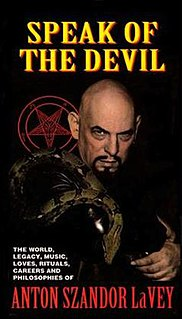 <i>Speak of the Devil: The Canon of Anton LaVey</i> 1993 film by Nick Bougas