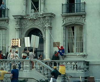 "The Amazing Spider-Man (TV series) - Shooting Spider-Man at Caltech from ""The Curse of Rava"""