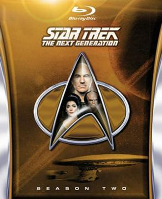Star Trek: The Next Generation (season 2) - Region A/1 Blu-ray cover art