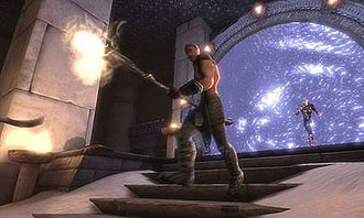Stargate: Resistance - A  screenshot from the game.