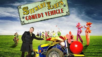 Picture of a TV show: Stewart Lee's Comedy Vehicle