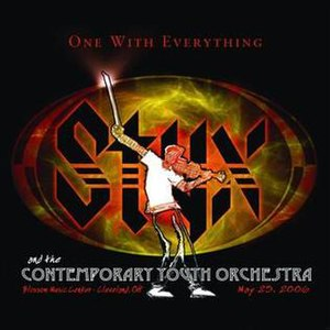 One with Everything: Styx and the Contemporary Youth Orchestra - Image: Styx and The Contemporary Youth Orchestr 3