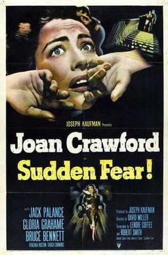 Sudden Fear - Theatrical release poster