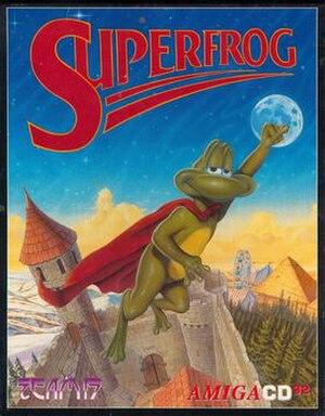 Superfrog - Image: Superfrogboxart
